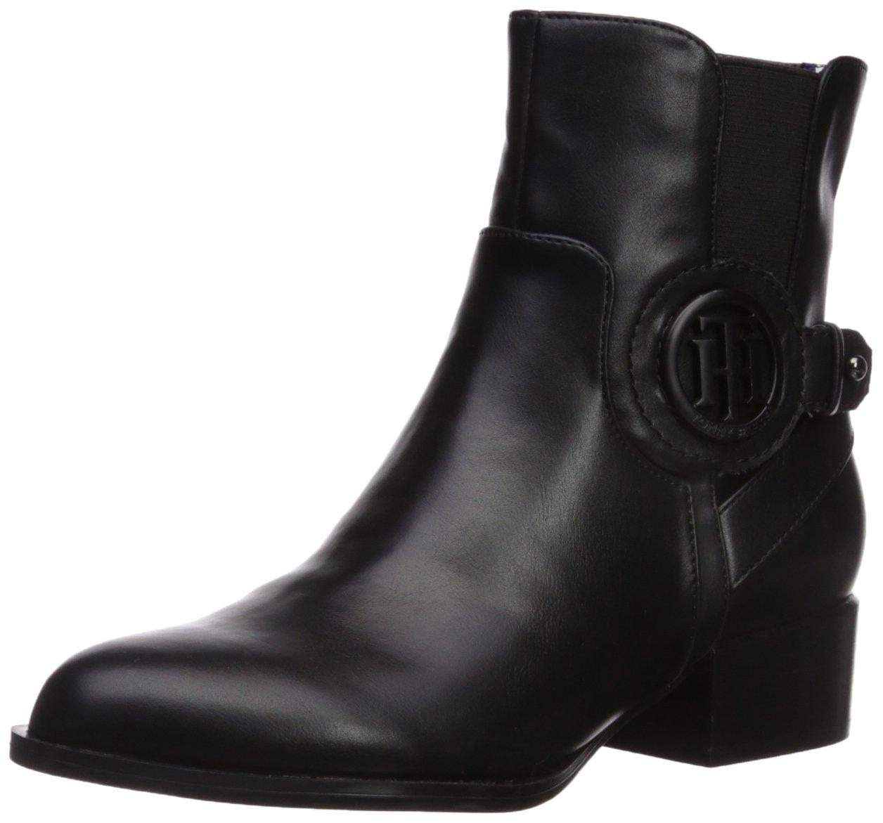 Tommy Hilfiger Women's Mavrick Ankle Boot B06XVJ9PYX 8.5 B(M) US|Black