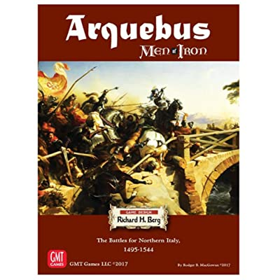 Arquebus: Men of Iron Volume IV: The Battles for Northern Italy: Toys & Games