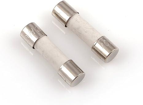 10/x 2,5/A 20/mm en c/éramique fusible /à fusion lente