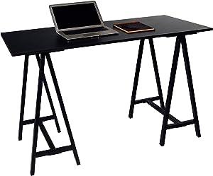 OneSpace Cambria Art, Black Computer Desk