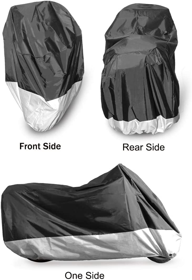 INDIAN SCOUT Oxford Motorcycle Cover Waterproof Motorbike White Black