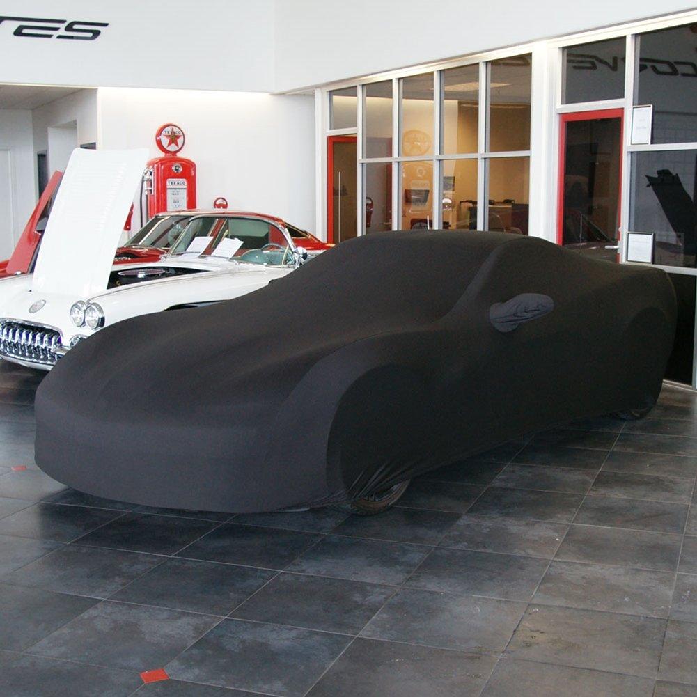 2005-2013 C6 Corvette Ultraguard Stretch Satin Indoor Car Cover Red