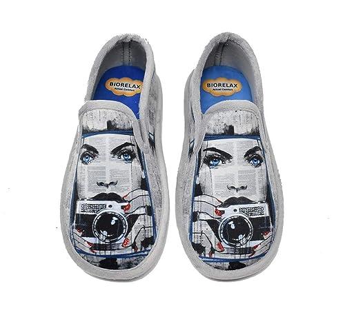 Zapatillas de casa Cerradas de Mujer con Piso biorelax- BIORELAX 4509: Amazon.es: Zapatos y complementos