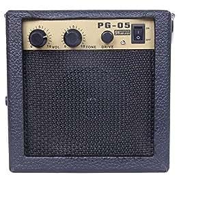 pg 05 mini guitar amplifier 5w electric guitar amp amplifier speaker with volume. Black Bedroom Furniture Sets. Home Design Ideas
