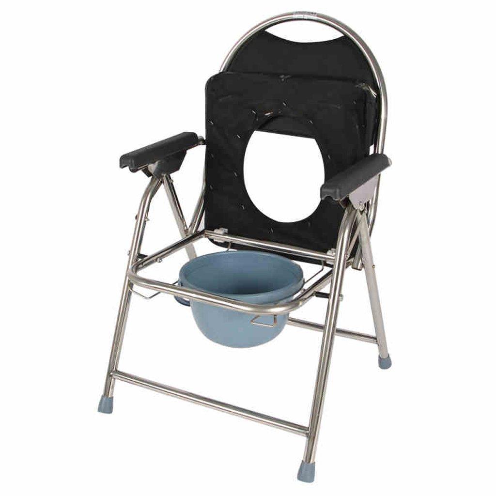 Shariv-シャワーチェア 老人の座っている椅子/トイレ/妊婦の軽い折りたたみ式のバスチェア/トイレの椅子 B07DQ5SX74