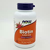 Biotin 5,000 mcg 120 VegiCaps