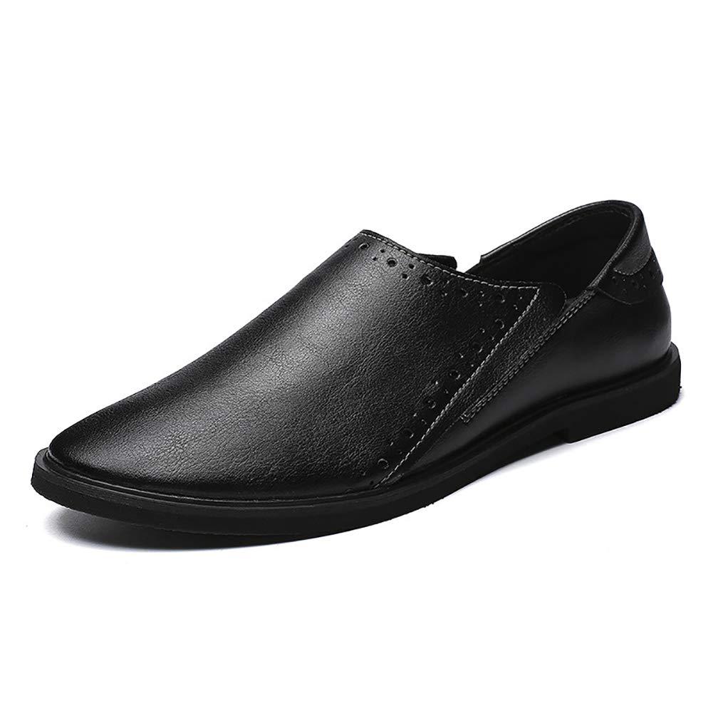 Herrenschuhe Leder Loafers & Slip-ONS Fahr Schuhe Casual Formelle Geschäft Arbeit Schwarz, Braun
