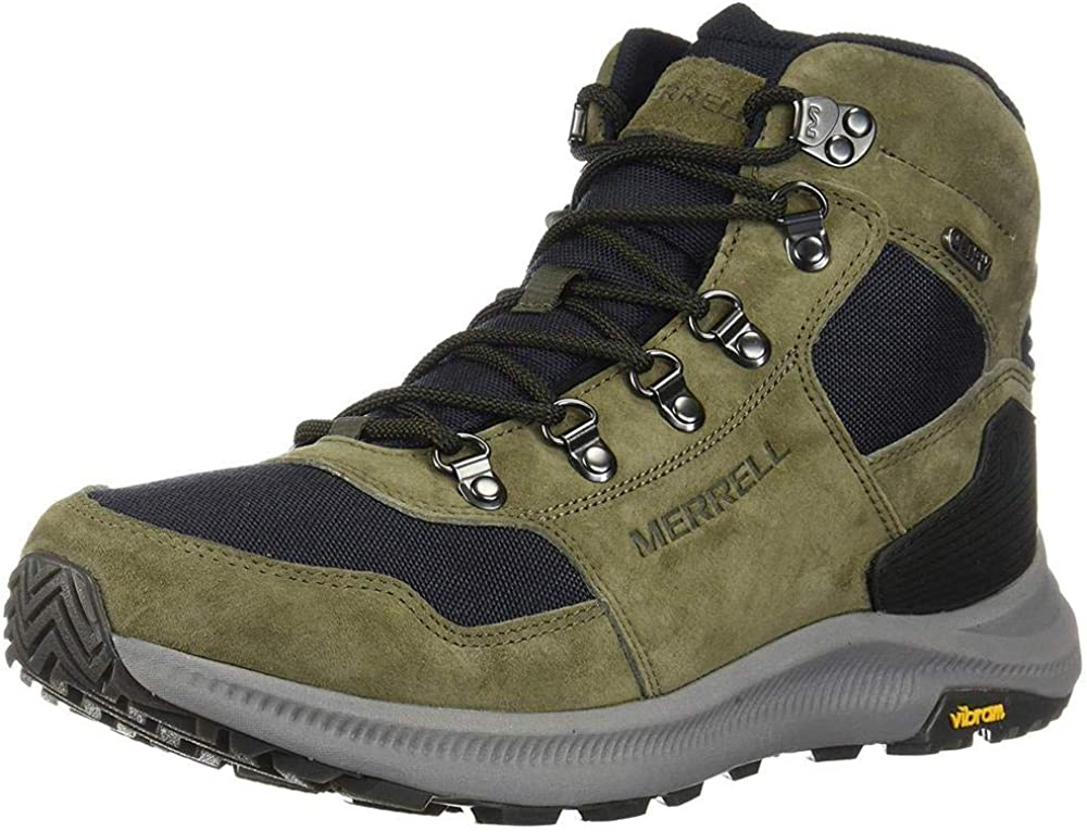 Merrell Mens Ontario 85 Mid Waterproof Hiking Shoe