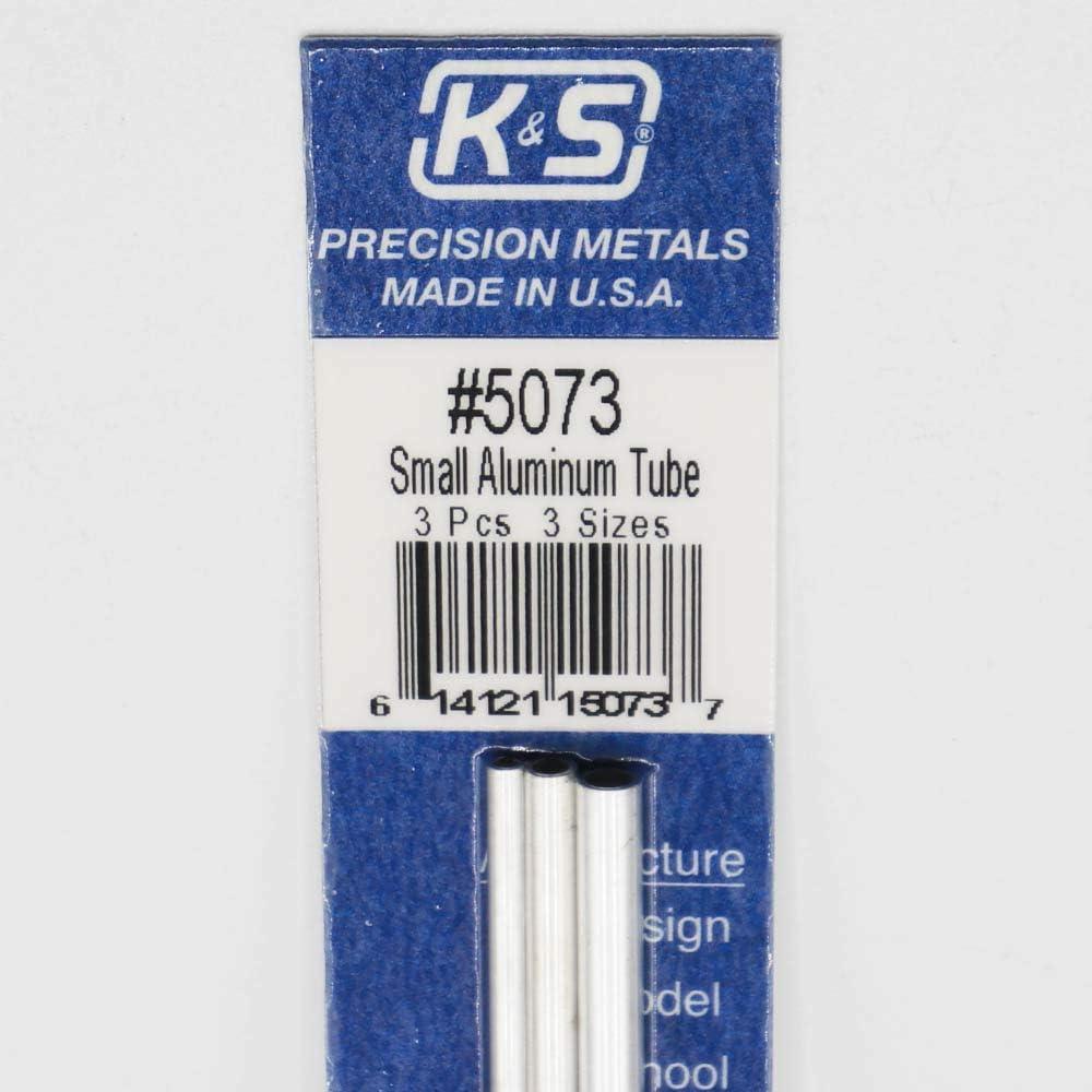 K/&S Aluminum Tube 3//32 1//8 5//32 Bendable 3 5073
