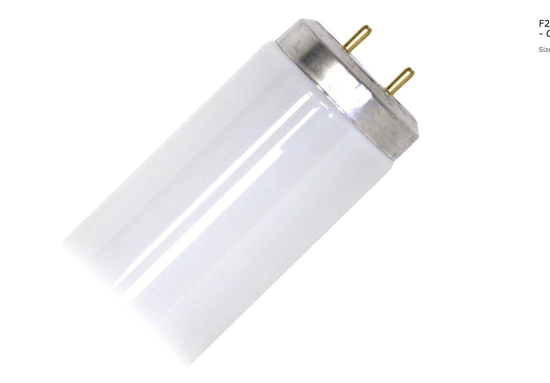 (10 Pack) Philips 422758 - F40T12/TL830 Soft White Deluxe 40 Watt T12 Fluorescent Tube Light Bulb 40W F40T12 Warm White 3000K - Replaces F40/SP30/ECO F40/SPX30/ECO F40/D30/ECO