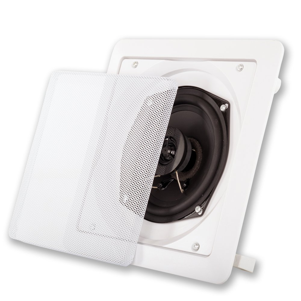 Acoustic Audio S191 5.25-Inch Square 2 Way Speaker