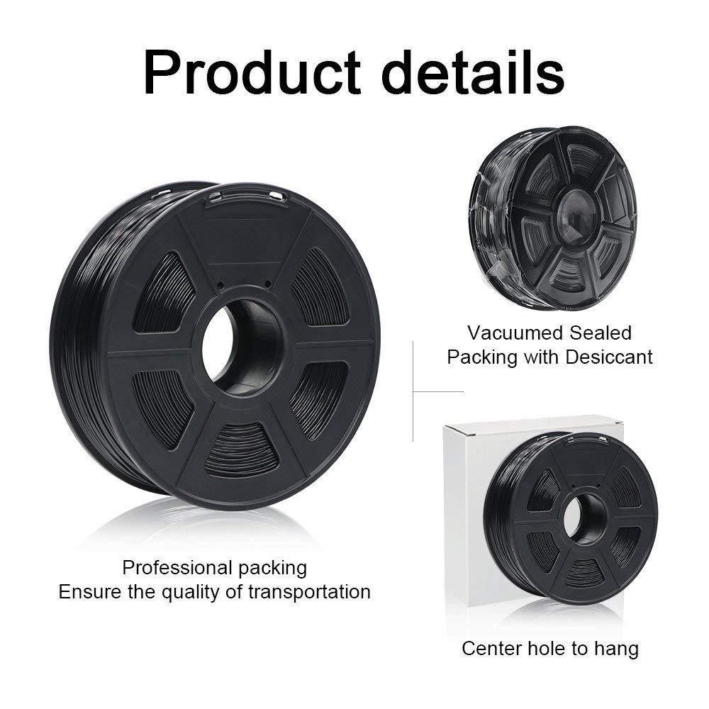 1.75mm f/ür 3D-Drucker und 3D-Stifte,Verschiedene Farben Blau Toleranz beim Durchmesser liegt bei +//- 0,02mm ANYCUBIC PLA 3D Drucker Filament 1kg Spule