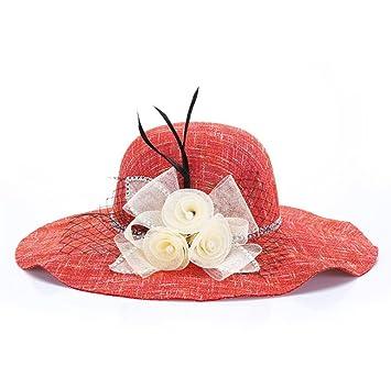 a2501f82ec116 TREESTAR Sombrero de verano con diseño de mariposa para mujer ...