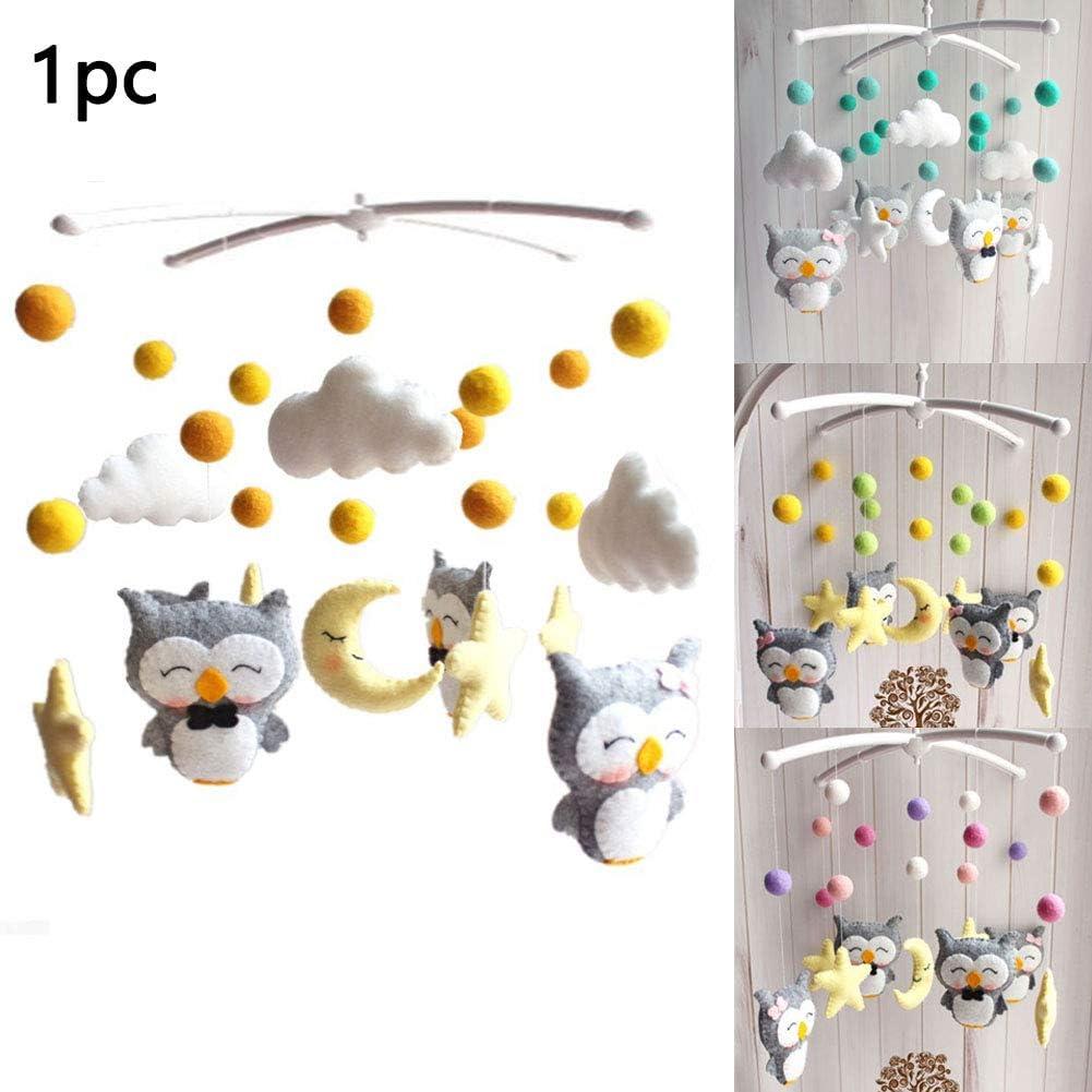 Actividad y entretenimiento Baby Mobile Hanging Toys Baby Musical ...