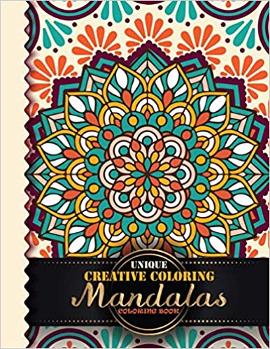 Amazon.com: Unique Creative Coloring Mandalas Coloring Book ...
