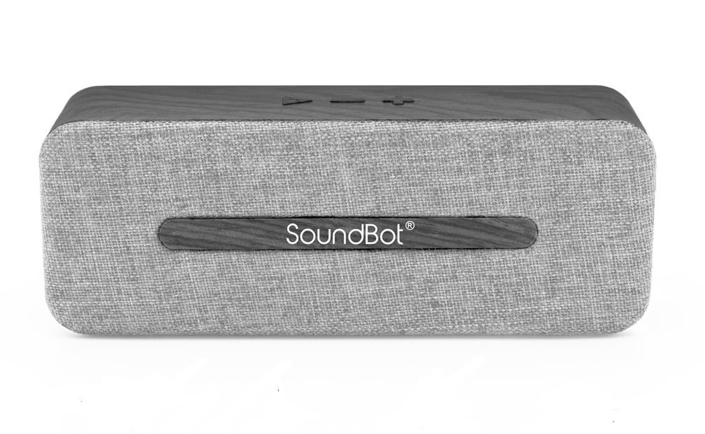 Soundbot SB574 6W Stereo Bluetooth Speakers (Grey)