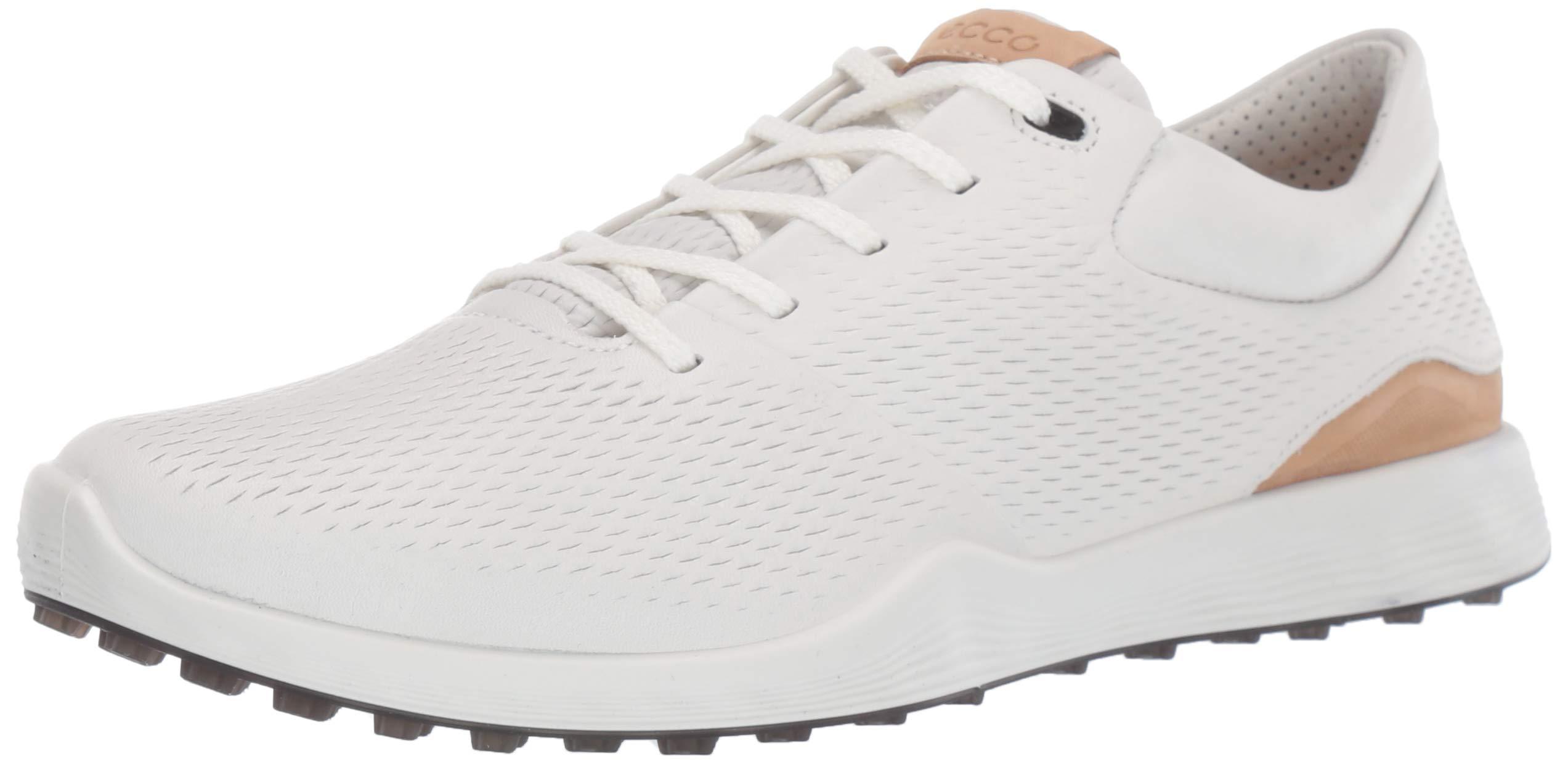 ECCO Women's S-Lite Golf Shoe, White Yak Leather, 11 M US by ECCO