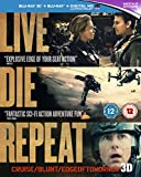 Live Die Repeat Edge of Tomorrow (Blu-Ray ) 2014