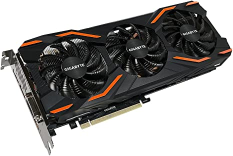 GIGABYTE GeForce GTX 1080 8GB 256-Bit GDDR5X Graphics Card GV-N1080D5X-8GD