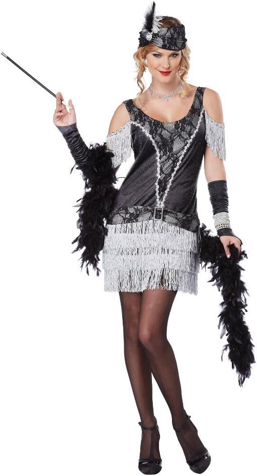 JADEO Disfraz de Charleston para Mujer: Amazon.es: Juguetes y juegos