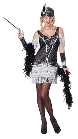 e8e012cba54 California Costumes Women s Razzle Dazzle Flapper Roaring 2O s Dress