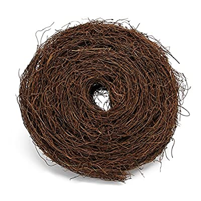MomokoPeng Grapevine Twig Garland 12 Feet Natural Twig Grapevine for Holiday and Home Decor