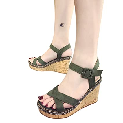 107e246b0fb40 Image Unavailable. Image not available for. Color  Summer Women High Heels  Sandals