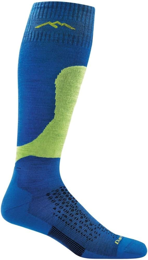 Mens Darn Tough Fall Line Over The Calf Padded Light Cushion Sock