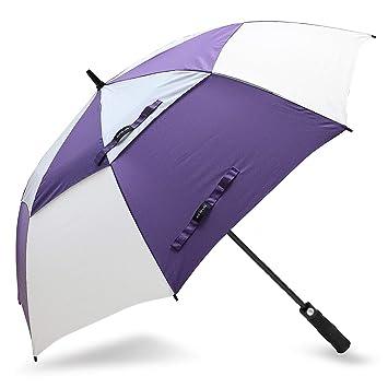 ZOMAKE Paraguas de Golf automático Abierto de 150 cm – Paraguas Grande Impermeable tamaño Grande Resistente
