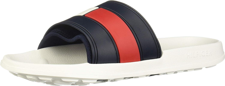 Tommy Hilfiger Flag Pool Slide, Zapatos de Playa y Piscina para Hombre