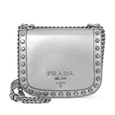 d4c67497bc73 Image Unavailable. Image not available for. Color  Prada Pionniere Medium Leather  Crossbody ...