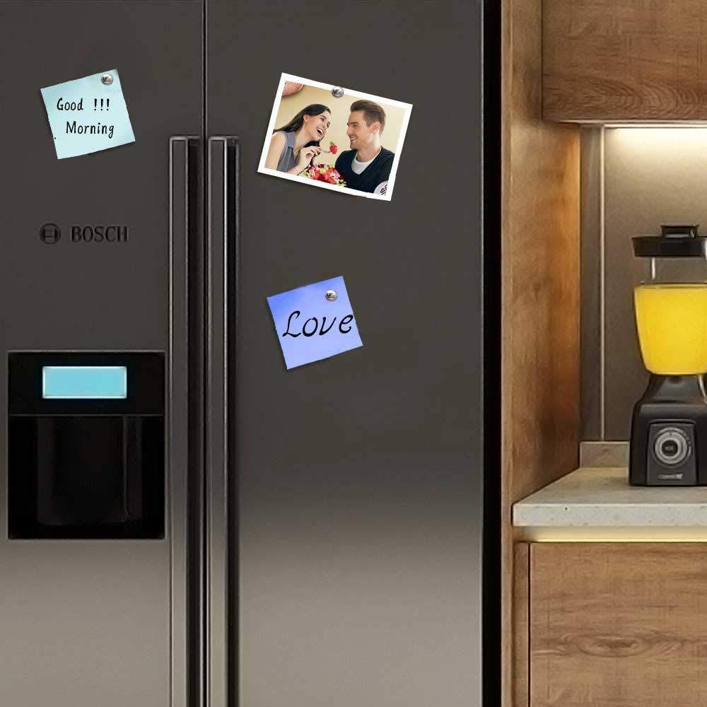 Gkwet Imanes para refrigerador, pines de empuje, imanes fuertes ...