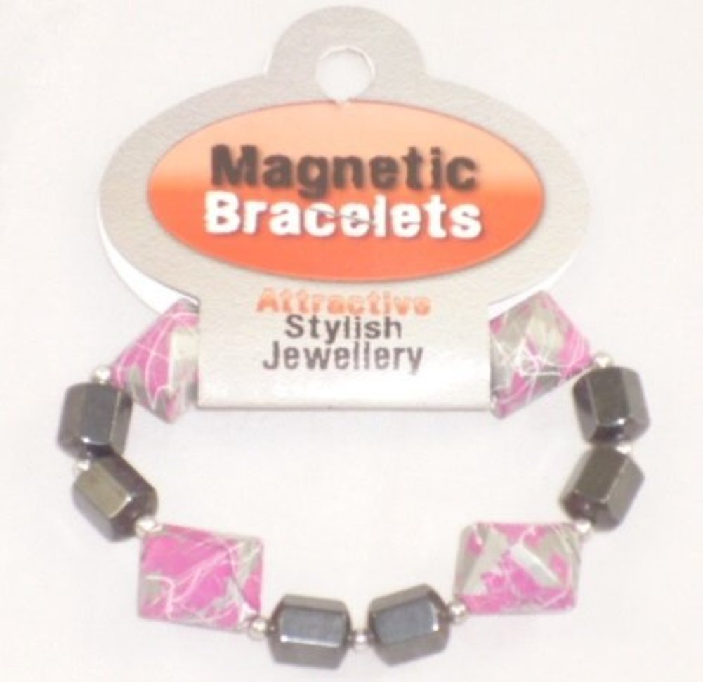 Magnetic Bracelet - Attractive Stylish Jewellery - 3 Years + (HL204) PINK TOYLAND