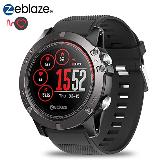 Zeblaze Vibe 3 ECG Smart Watch IP67 Rastreador de Ejercicios a ...