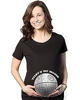 Crazy Dog Tshirts Maternity Thats No Moon Cute T Shirt Funny Pregnancy Announcement Baby Bump Tee