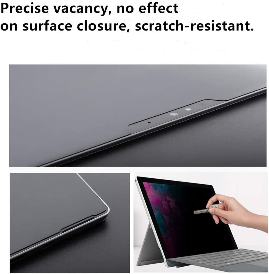 Anti-Glare//Anti-Spy Filter 15 inch Surface Book Privacy Screen Filter Protector Compatible with Microsoft Surface Book 1//2 High Clarity Upgrade Design