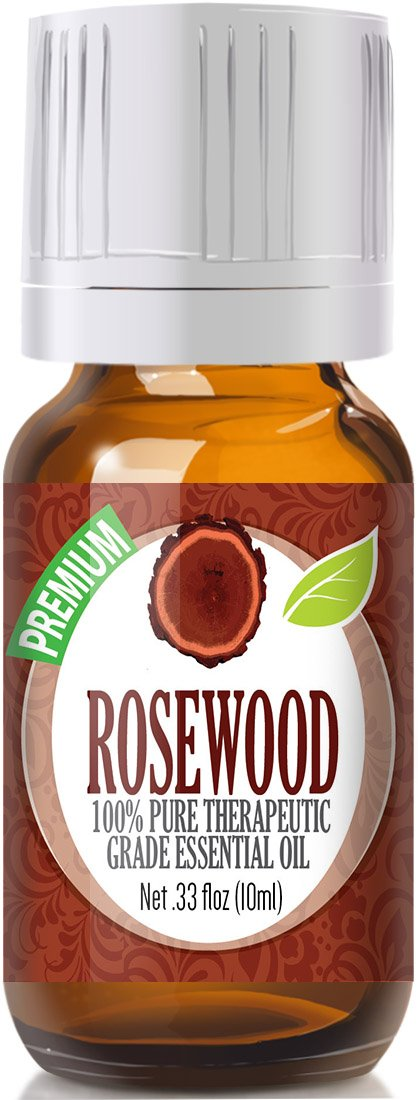 Rosewood 100% Pure, Best Therapeutic Grade Essential Oil - 10ml