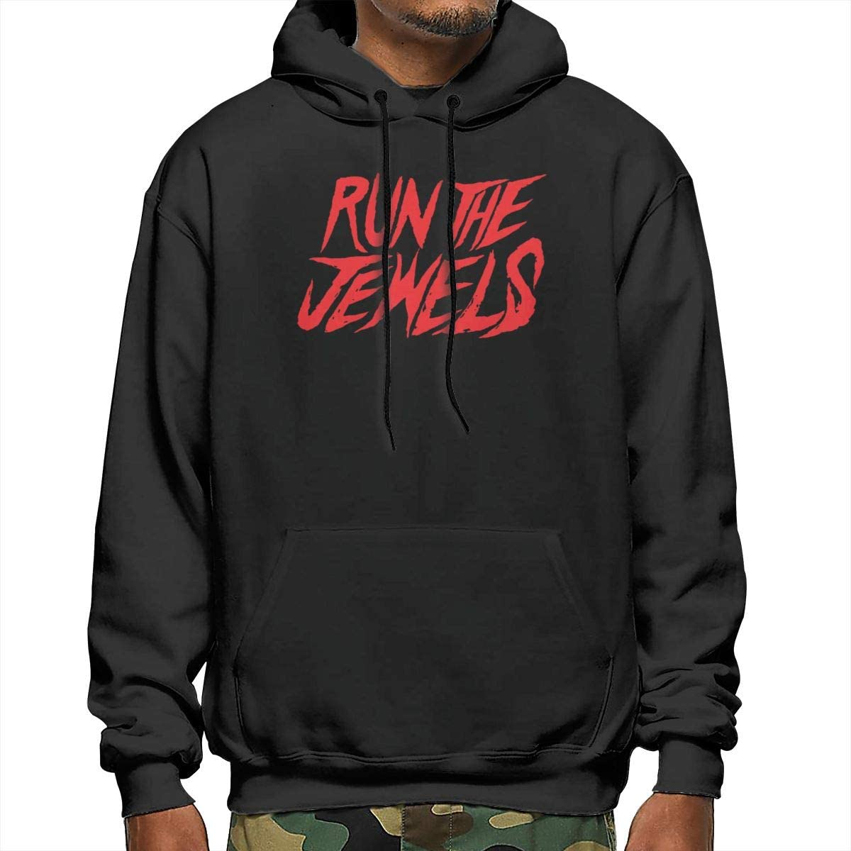 NathalieRSalmeron Run The Jewels Mens Pullover,Casual Long Sleeve Outwear