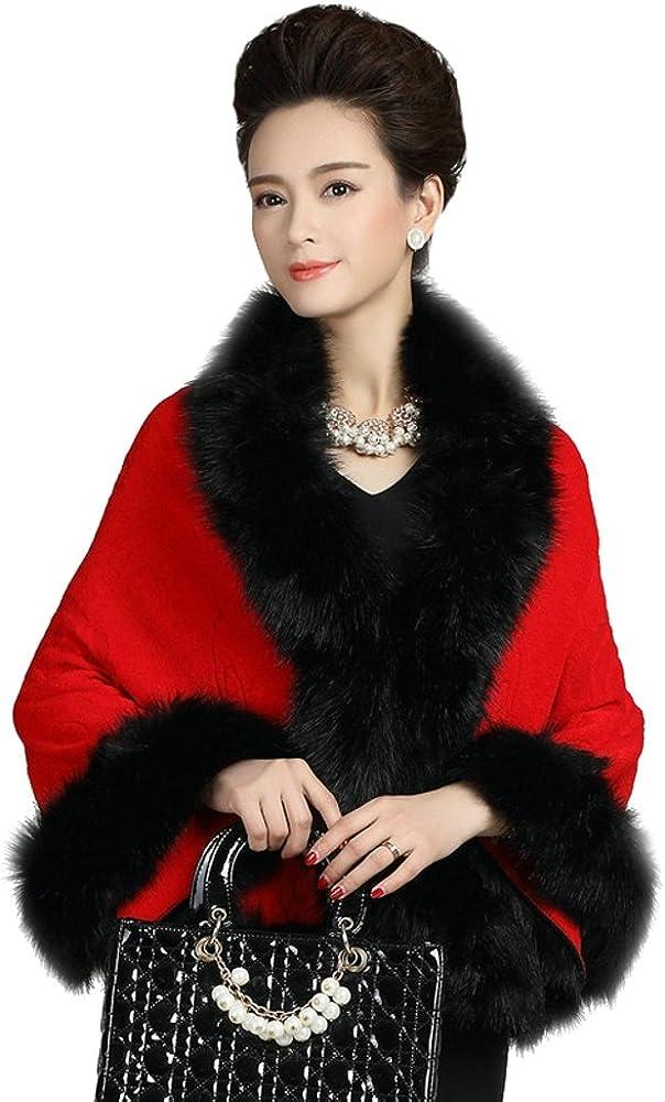 Elfjoy Bridal Faux Fur...