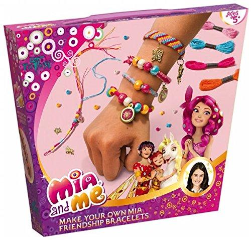 Mia and Me Bastel-Set Freundschafts-Armbänder für Mädchen - mit Bändern, Perlen und verschiedenen Anhängern