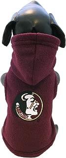 product image for NCAA Florida State Seminoles Polar Fleece Hooded Dog Jacket, Tiny