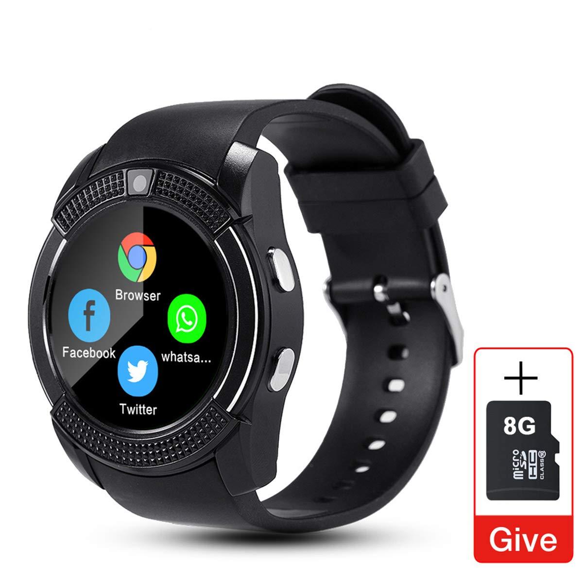 Sport Men Smart Watch V8 Tarjeta SIM Cámara Android Android ...