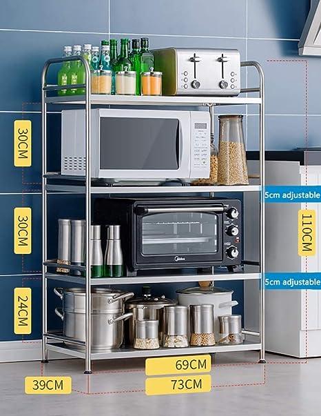 IG Estante de Almacenamiento Adecuado para la Cocina Oficina en ...