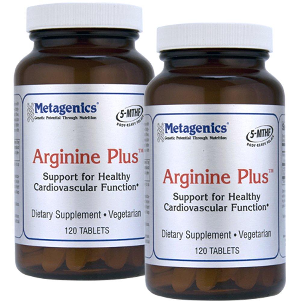 Metagenics Arginine Plus with ActiFolate 120 Tabs - TwinPak