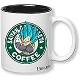 Dragon Ball Z Vegeta Super Saiyan God Starbucks Mug (Perfect Gift For Family, Friends, Vegeta & DBZ Fans!) - UrbanBrew LLC