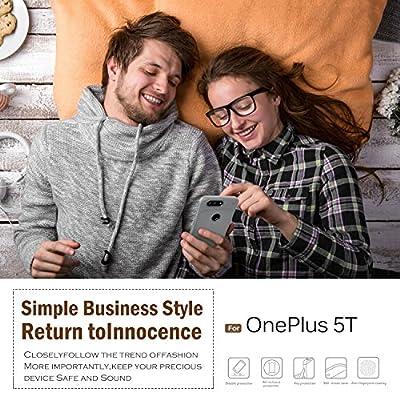 Oneplus 5t case, KuGi SS [Scratch Resistant] Premium Flexible Soft Anti Slip TPU Case for Oneplus 5t smartphone