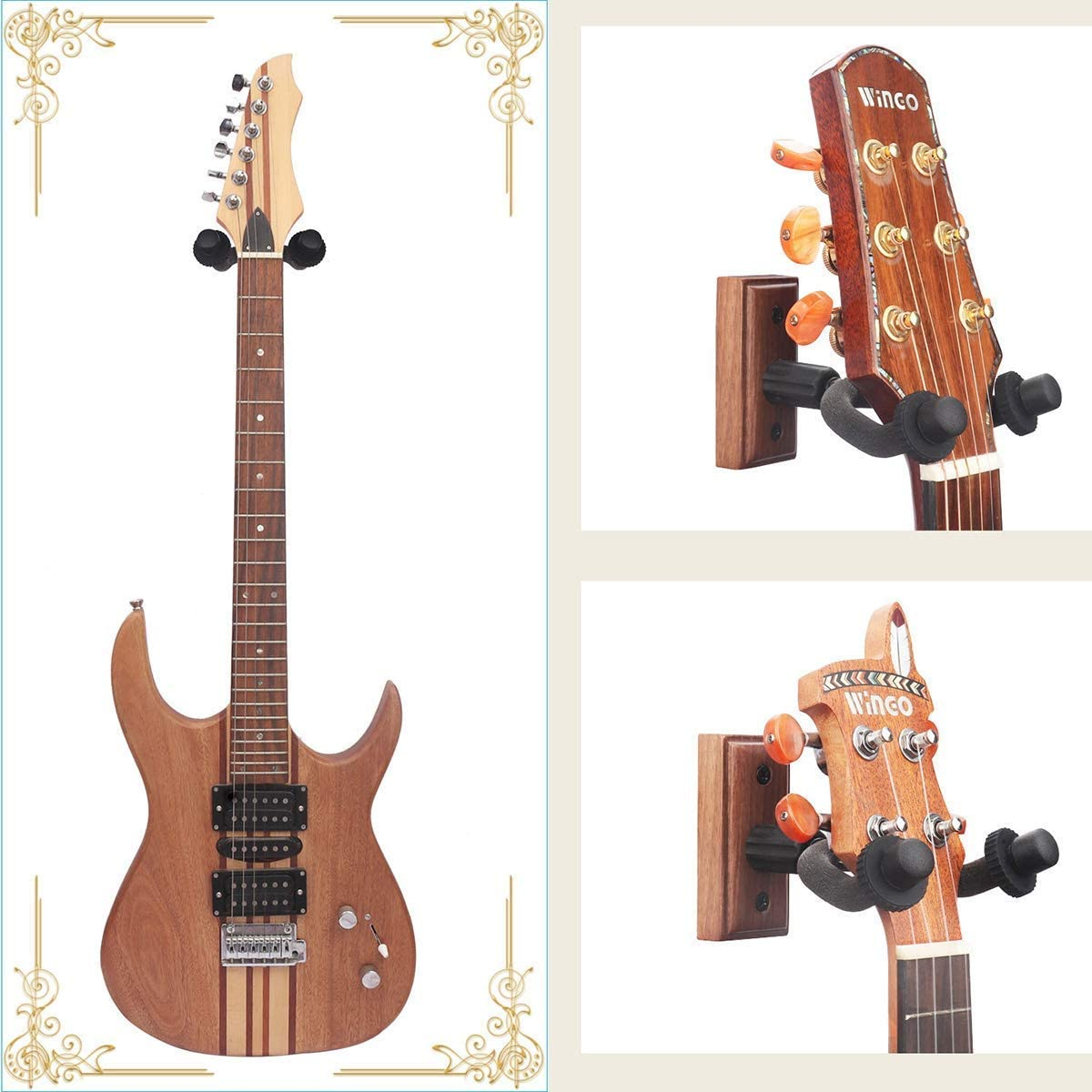 Soporte Guitarra pared de Colgador Guitarra Guitar Hook Hanger ...