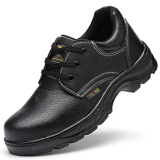 Darringls Zapatos Seguridad, Hombres Ligeros Transpirables Calzado ...