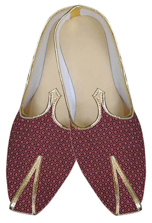 Mens Maroon Indian Designer Shoes MJ0041