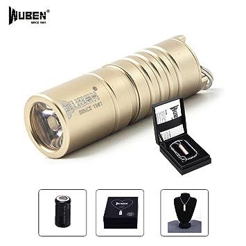 Wuben® Mini linterna Cree LED de solo 4 cm Max Real, 130 ...